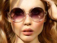 Round Frame Sunglasses by Victoria Beckham