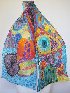 Silk Scarves by Social Fashion Monster Silk Scarf by Social Fashion Monster Email me: acortadab@gmail.com 📩
