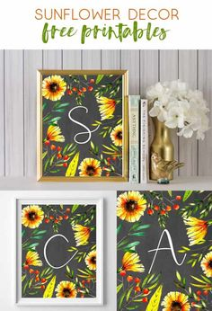 sunflower art | free