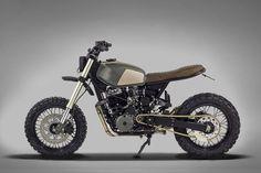 A Honda 650 for Africa: Ton-Up Garage's Muxima   Bike EXIF
