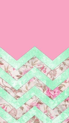 Lovin' the vintage floral/chevron look, maybe for my home screen??