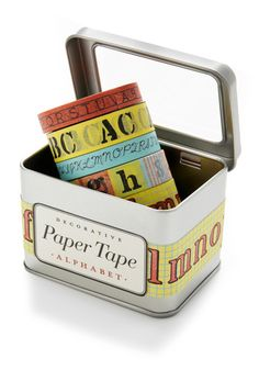 What a Character Paper Tape Set