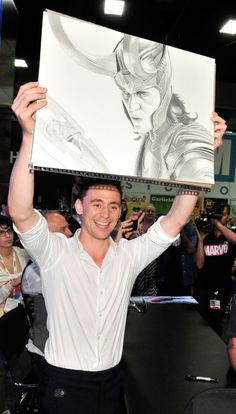 That's a really good drawing, you realize how good that is!? It's AMAZING!!! Tom is too, but still, it's really awesome!