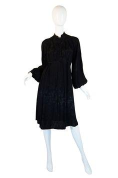 1970s Ossie Clark Design Radley Dress