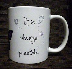 artistic coffee mug MY FATHER inspirational Clarence B. Kelland ...