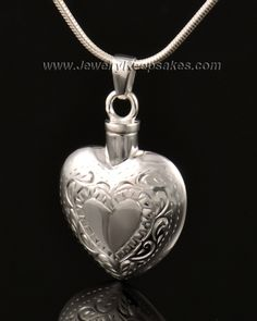 LOPEZ KENT Fashion Stainless Steel Cremation Jewelry Always in My Heart Smooth Star Pendant Necklace Silver