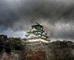 21 Not so Spooky Castles: Ozakajo Osaka Castle,  Japan
