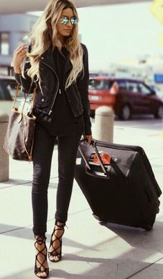 all black. fall style.