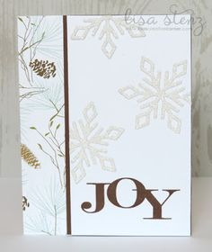 Lisa's Creative Corner: October Project Kit - Very Merry Christmas Card Kit