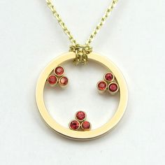 Super proud of this new #spinel #gold necklace a lucky lady received for #Valentines day.