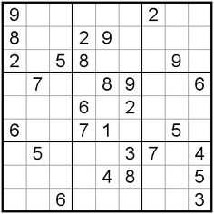 photo about Medium Sudoku Printable known as 9 Simplest Sudoku! Im up toward medium puzzles already, in just the uncomplicated