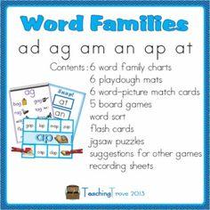 math worksheet : 1000 images about word families  kindergarten on pinterest  : Am Word Family Worksheets For Kindergarten