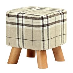 Cheap wooden stool, Buy Quality leg stool directly from China stool legs Suppliers: Best Modern Luxury Upholstered Footstool Pouffe Stool + Wooden Leg Pattern:Square Fabric:Big Legs) Wooden Footstool, Upholstered Footstool, Wooden Stools, Kids Furniture, Living Room Furniture, Wooden Leg, Damier, Kids Seating, Fabric Squares