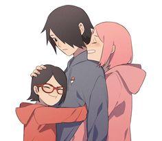   Save & Follow   Uchiha Family • Boruto: Naruto Next Generations