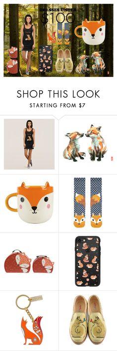 """Foxy Lady"" by ditsydot19 ❤ liked on Polyvore featuring Accessorize, Casetify, Folklore Nina Jarema, Goby, zazzle and ditsydot19"