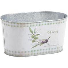 Jardinière cache pot en zinc (Ovale) - Achat / Vente jardinière - pot fleur Jardinière cache pot en zin - Cdiscount