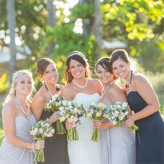 Sara & Alan's Real Wedding - The Bridesmaids
