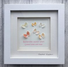 Butterflies appear when loved ones are near, memorial gift
