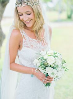 All smiles: http://www.stylemepretty.com/destination-weddings/2015/09/11/romantic-bohemian-chic-wedding-in-portugal/ | Photography: Love Is My Favorite Color - http://www.loveismyfavoritecolor.com/