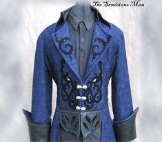 pirate wedding  | Steampunk Wedding Tuxedo Style frock coat by TheSandstoneMan
