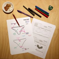 Technical Specifications Time  #techpack #fashionflats #techsketch