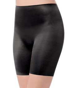 This Skinny Britches® Shorts - Black by SPANX® by Sara Blakely is perfect! #zulilyfinds
