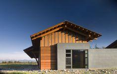 Carney Logan Burke Architects; Laurance S. Rockefeller Preserve at Grand Teton National Park (New Construction); Moose, Wyoming, 2008.