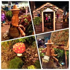 RI Flower Show was great! A good friend and I had a wonderful time! The show was adorable with a children's theme! So much fun and great ideas! #garden #gardening #plants #organic. #perennials #flowers #lostworlds