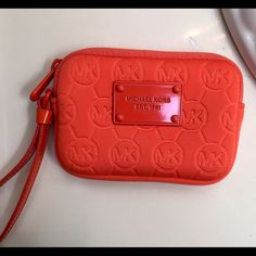 Michael Kors Neoprene coin purse Brand new, never used, without tags. Michael Kors Bags Mini Bags