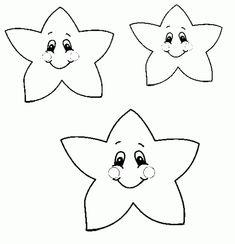 Estrellas de Navidad para Colorear (4)