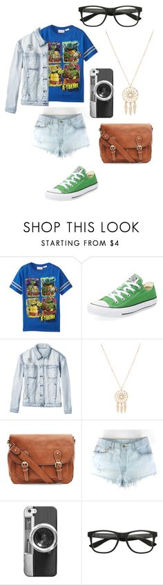 """""""Nerdy TMNT fangirl"""" by artist-in-training ❤ liked on Polyvore featuring Converse, RVCA, Anarchy Street and Casetify"""