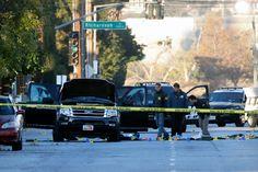 San Bernardino Shooting Investigators See Terrorism Links By IAN LOVETT, RICHARD PÉREZ-PEÑA, MICHAEL S. SCHMIDT and LAURIE GOODSTEINDEC. 3, 2015 - The New York Times