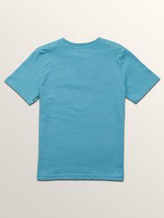 Volcom Little Boys Crisp Stone Short Sleeve Tee - Dark Kelly 3T