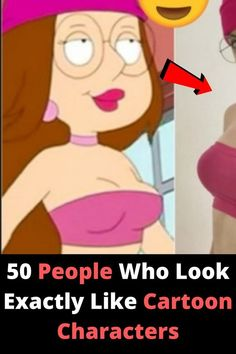 Ever wonder where people get ideas for our favorite movies and characters? 50 People Who Look Exactly Like Cartoon Characters Funny Jokes, Hilarious, Pregnancy Problems, Cool Gadgets To Buy, Double Standards, Perfume, Tecno, Funny Pins, Cartoon Characters