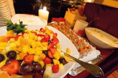 Bars & Restaurants Fruit Salad, Cobb Salad, Restaurant Bar, Restaurants, Cheese, Food, Diners, Fruit Salads, Meal
