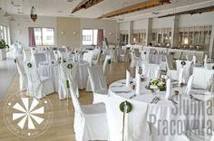 biała sala weselna