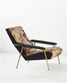 GIO PONTI AND MAURO REGGIANI Rare 'Distex' armchair, model no. 807