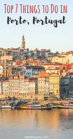 Porto Itinerary: What to Do for 2 Days in Porto - Migrating Miss 7 Things to Do in Porto That Don't Involve Port Wine - Porto was the best place to visit in Portugal in my opinion, it had so many awesome things to see and do! Algarve, Europe Travel Tips, European Travel, Travel Destinations, Visit Portugal, Spain And Portugal, Cool Places To Visit, Places To Travel, Portugal Travel Guide