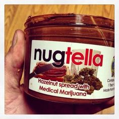 weed-infused nutella made by a San Jose medical marijuana dispensary