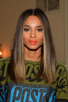 In love with Ciara's hair at NYFW