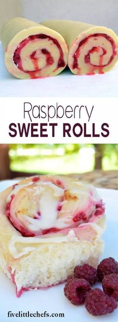 Soft and fluffy Raspberry Sweet Rolls are filled with juicy raspberries and topped with a cream cheese glaze. Bake for special occasions or to impress guests.