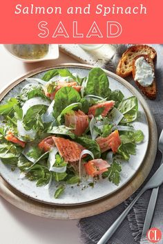 Healthy Lunch Salad Recipes is One Of Favorite Salad Recipes Of Numerous People Round the World. Besides Simple to Make and Good Taste, This Healthy Lunch Salad Recipes Also Health Indeed. Salad Recipes Healthy Lunch, Spinach Salad Recipes, Healthy Dinners, Eat Healthy, Healthy Snacks, Main Dish Salads, Dinner Salads, Herbs For Pork, Pork Salad