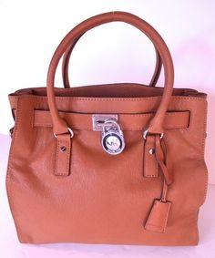 MIchael Kors Large Brown Hamilton Handbag tote