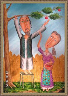"""Harvest"" - Jewish Motifs - Zurab Martiashvili"