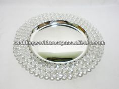 CRYSTAL CHARGER PLATES cheap plastic charger plates $2.00~$10.00