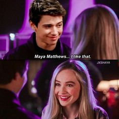 Aww this is cute. Josh really loves Maya. #gurlmeetsworldseason4 #mayaandJosh #Girlmeetsfeauture