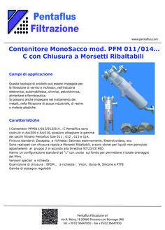 Contenitore MonoSacco mod. PFM 011/014…C con Chiusura a Morsetti Ribaltabili