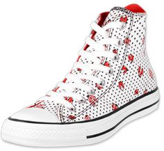 Ladybug Converse - I have these in a low top. (:l:)