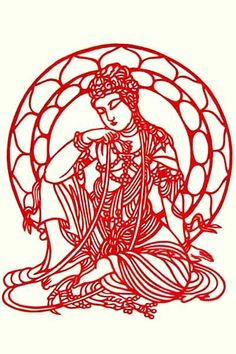 """Guanyin is the Chinese bodhisattva of compassion. She is honored throughout East Asia. In English she is referred to as the Goddess of Mercy; her name means """"She who Observes the Cries of the…"""