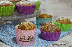 Tapitas y Postres: Carrot cake muffin.